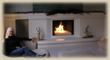 Modern Custom Mantel