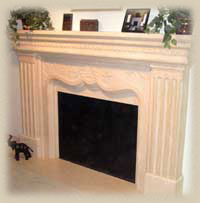 Classical Style Mantel