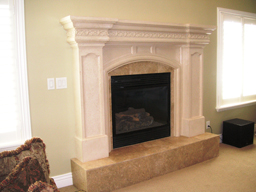 Cast Stone Fireplace Mantels & Surrounds by Artisans Mantels